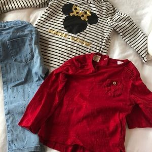 Zara baby jeans/ beautiful baby girl outfit